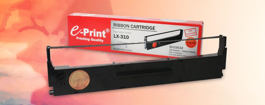 Cartridge Ribbon e-Print, Sahabat Printer Dot Matrix Kantormu