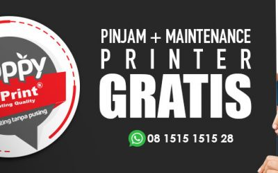 Happyprint Solusi Sewa GRATIS Printer