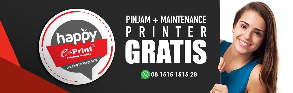 Happyprint Solusi Sewa GRATIS Printer
