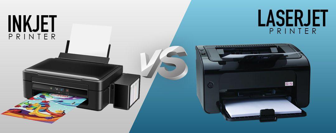 Pilih Printer Inkjet atau Printer Laserjet?