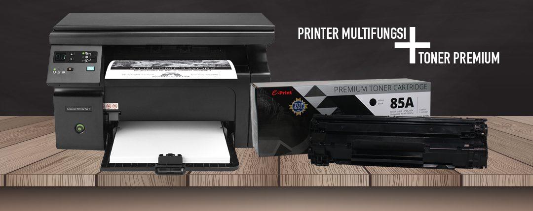 Printer Laser Multifungsi menggunakan Toner 285A