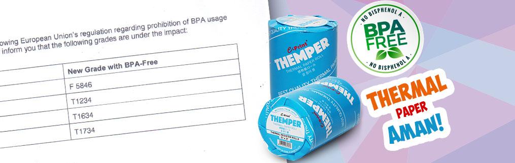 Kertas Struk yang AMAN dan sudah BPA Free