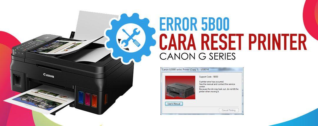 Cara Reset Printer G2000 Tanpa Aplikasi 100% Work