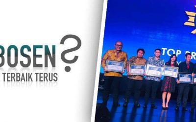 TOP BRAND Award terus, ga' Bosen apa jadi yang terbaik?