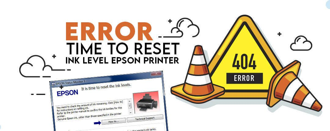 Cara Mengatasi Error It is Time to Reset Ink Level pada Printer Epson L Series