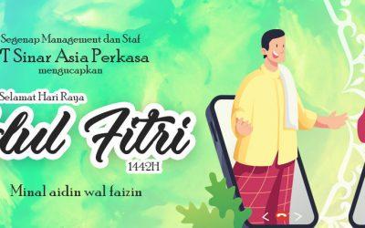 E-Print Mengucapkan Selamat Hari Raya Idul Fitri 1442H
